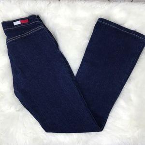 Vintage Tommy Hilfiger  logo flare Jeans   Size 3